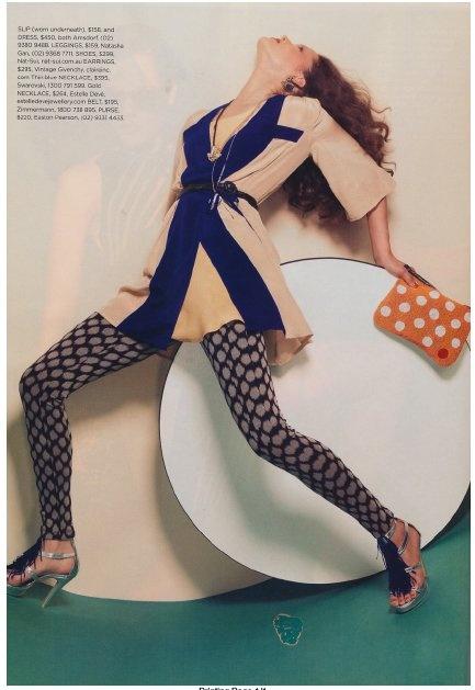 Natasha Gan on Cleo Magazine