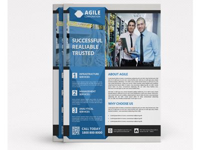 Best Corporate Flyer Designs Images On   Flyer Design