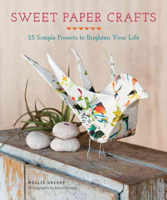 Sweet Paper Crafts offers 25 unique DIY paper accents that make any home or celebration a little brighter. Make tiny star garlands to string over the mantel, delicate flower wreaths for the front door