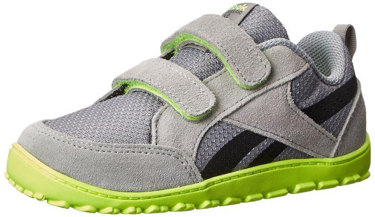 Amazon.com: Reebok Ventureflex Chase Training Shoe (Infant/Toddler/Little Kid): ClothingSize: 9 M US Toddler | Color: Flat Grey/Solar Yellow/Black 25% Off Shoes & Handbags Enter code HOLIDAY25 at checkout.\ 25.91
