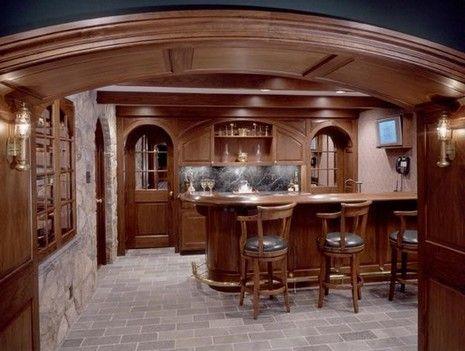 Handsome Custom Bar In Potomac Remodel. Entertainment RoomRoom  WallpaperBasement BarsHome ...