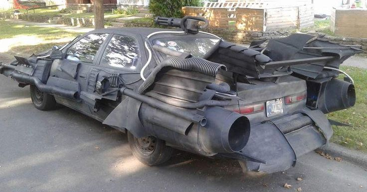 Batmobile Toyota Camry Is Somehow Allowed On Public Roads #Offbeat_News #Toyota