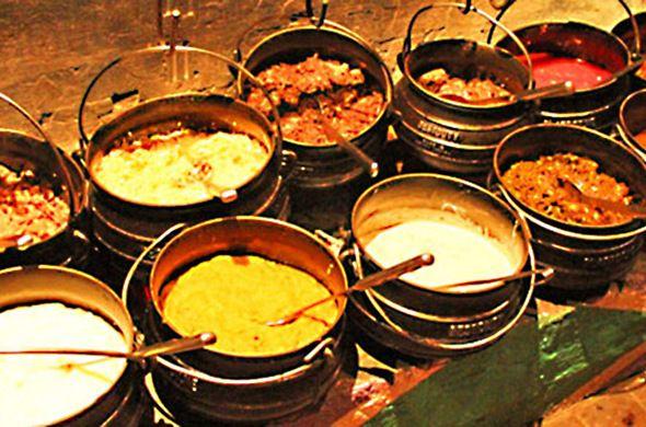 Botswana food.