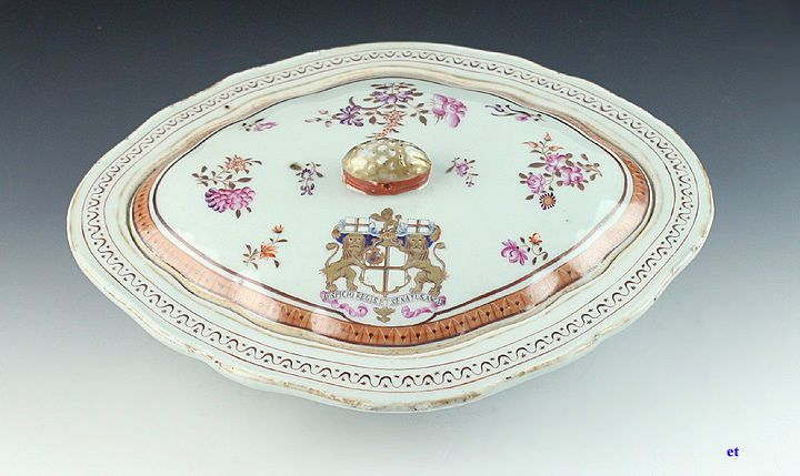 19th CENTURY EAST INDIA CO PORCELAIN COVERED DISH & 56 best Hon. East India Company dinner service c.1798 images on ...