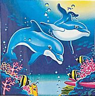 Dolphin Party Lunch/Dinner Napkins
