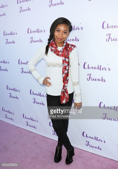 Actress Kyla Drew attends the 'Chandler's Friends' toy wrapping party on behalf of Hasbro's The Joy Maker Challenge