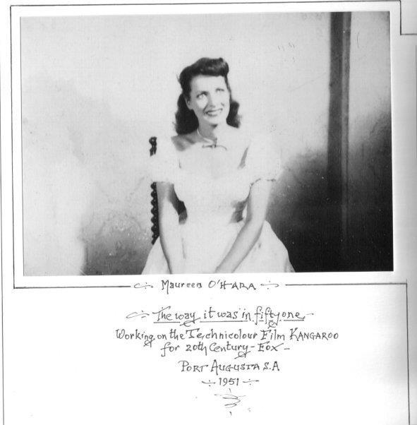 Maureen OHara: Kangaroos, Ohara Forever, Maureen O' Hara, Maureen Ohara