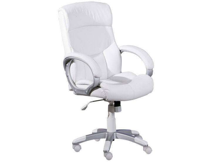 ALBERT Skrivbordsstol Vit i gruppen Inomhus / Kontor / Skrivbordsstolar hos Furniturebox (100-52-68174)