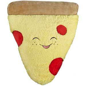 Remember we wanted to make a Comfort Food Pizza?? Well our friends at Justice helped make that happen! Now you can get the world's cuddliest pizza at Justice stores or at this link! Woo! #squishable #plush #pizza