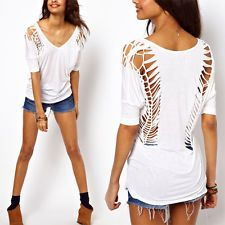 Awesome cut out t-shirt                                                                                                                                                                                 More