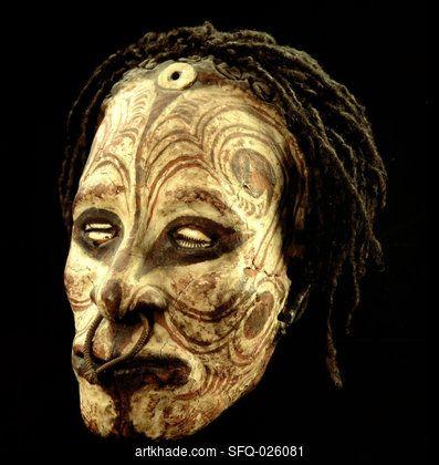 Region Middle Sepik River Culture Iatmul Period XIX-XXth