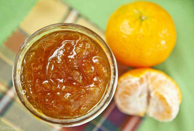 Geleia de bergamota ou tangerina.