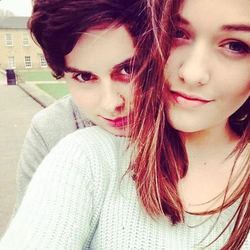 Felicite Tomlinson and Kind of Michael CliffordLook Like