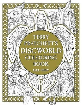 Terry Pratchetts Discworld Colouring Book By Paul Kidby Available At Depository With Free Delivery Worldwide