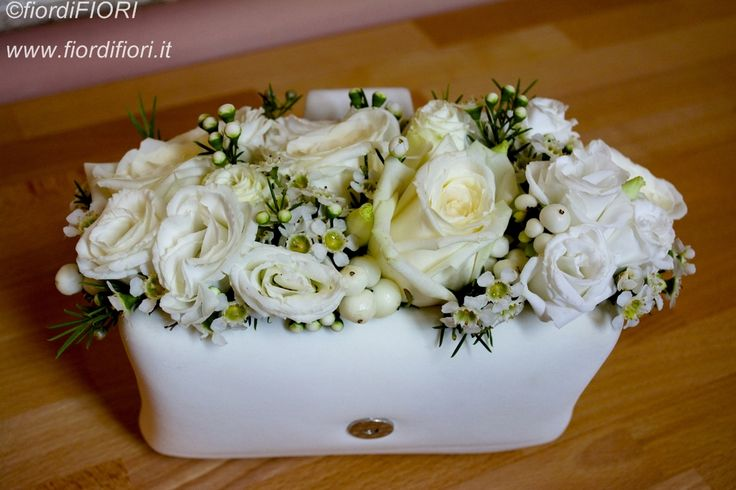Pochette di pelle per il bouquet della sposa