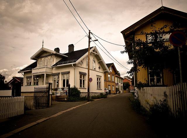 Rodeløkka, idyllic Oslo