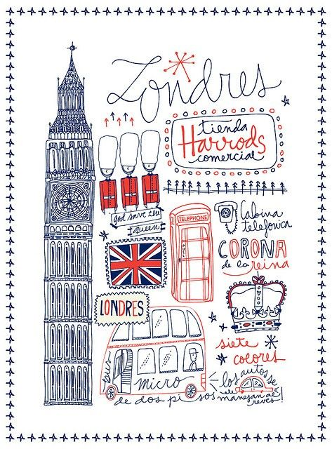 Britain doodles.
