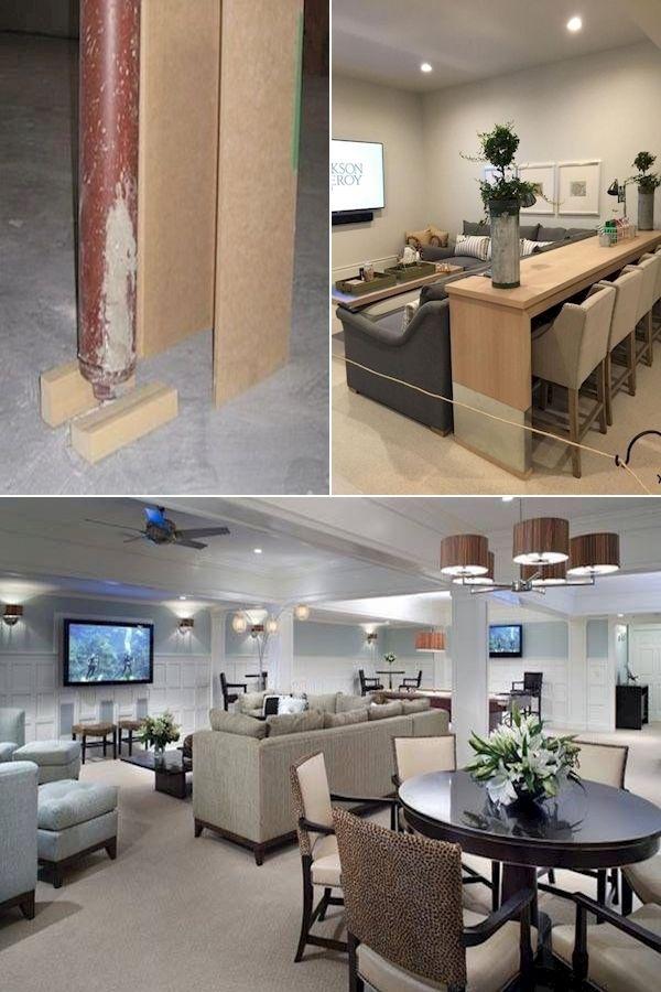 Basement Cost Basement Lounge Ideas Ideas For Finishing Concrete Basement Walls Basement Decor Decor Concrete Basement Walls