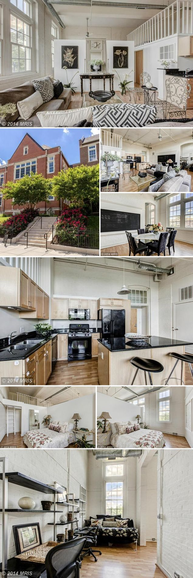 Listings We Love: Another Converted Schoolhouse Loft in Capitol Hill | Listing We Love | Washingtonian