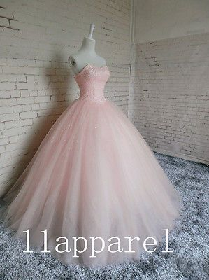 Pelota Rosa De Vestido De Quinceañera Vestido Molduras Partido Pageant Vestido Formal Vestido De Novia