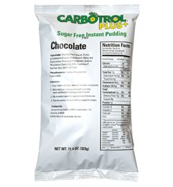#SugarFree is the way to be! Creamy and smooth #Chocolate #InstantPudding by Carbotrol Plus. A delicious, yet simple #dessert mix for any occasion – or non-occasion! It's perfect for those with dietary restrictions and a sweet tooth.