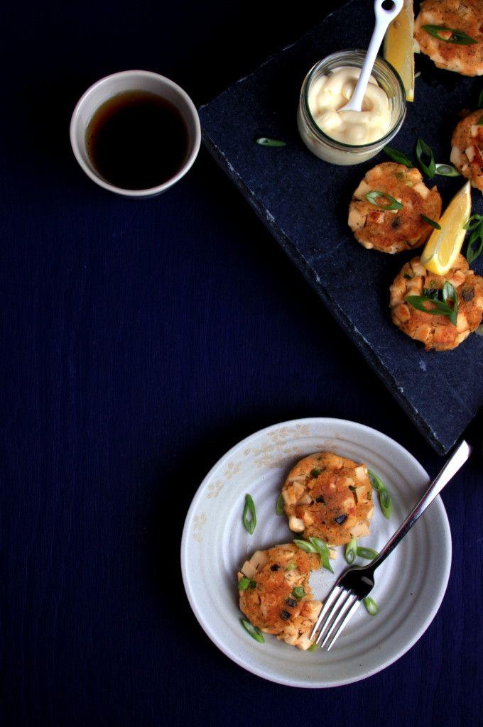 Spicy Vegan Shrimp Cakes