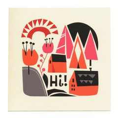 Home in the Hills Card ++ Darling Clementine