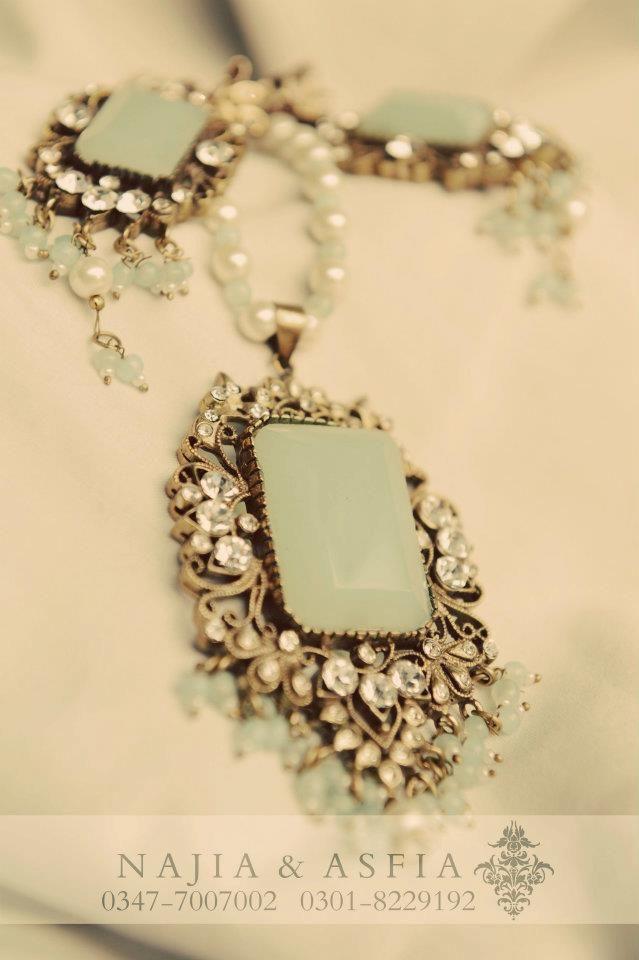 Jewellery by MARIA.B. Pakistani designer.