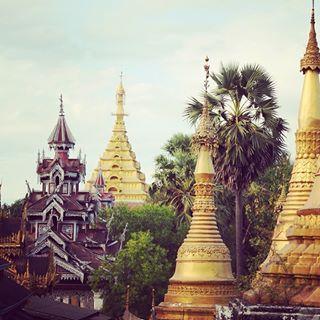 Dans les hauteurs de #Mawlamyine #Myanmar #MVBirmanie #MamanVoyageWT2016