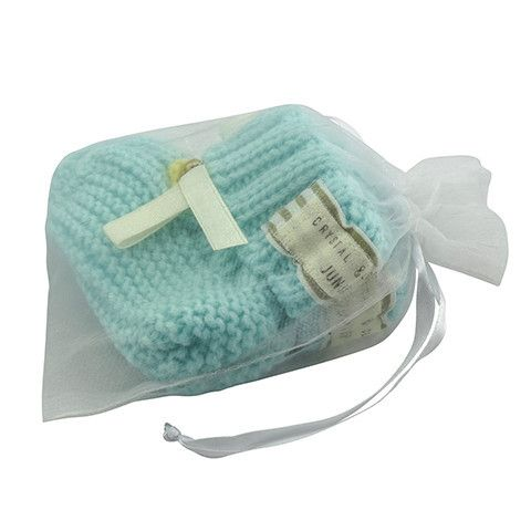 Crystal & Cloth - Chunky knit bootie baby shoes