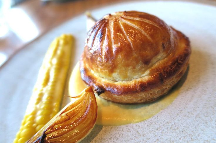 Potato and leek pie | Aubergine: a gastronomic fine dining must do in Canberra