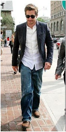 Jake Gyllenhaal style, jeans, combat boots | Men's Fashion ...