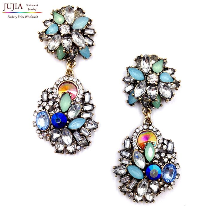 2017 New HOT SALE High quality  Z statement  fashion  drop Earrings for women girl party  Factory Price earring