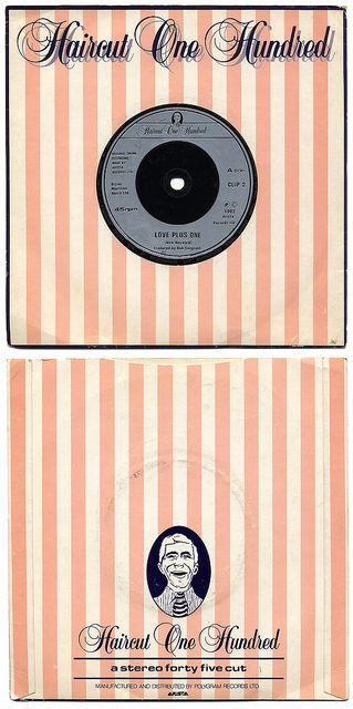Love Plus One b/w Marine Boy. Haircut One Hundred, Arista Records/UK (1982)