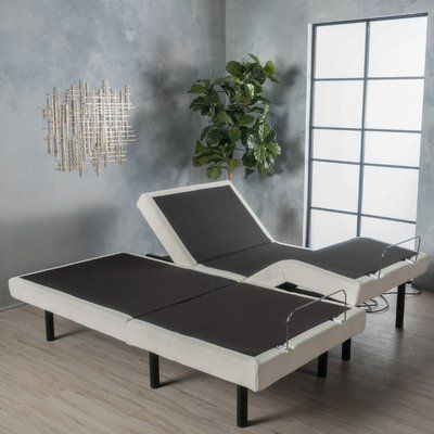Latitude Run Dunellon Adjustable Base Bed Frame Size: King