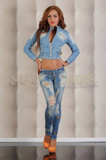 Jeans Mexton Ring Star Blue