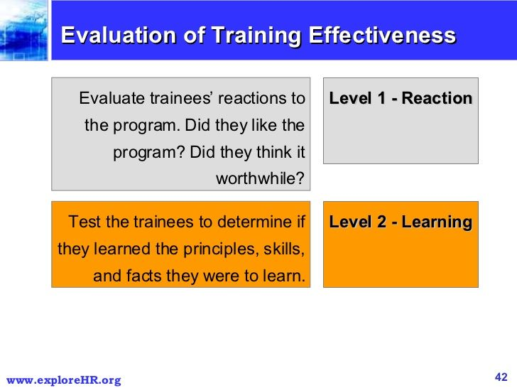 13 best training effectiveness images on Pinterest Coaching - sample evaluation plan