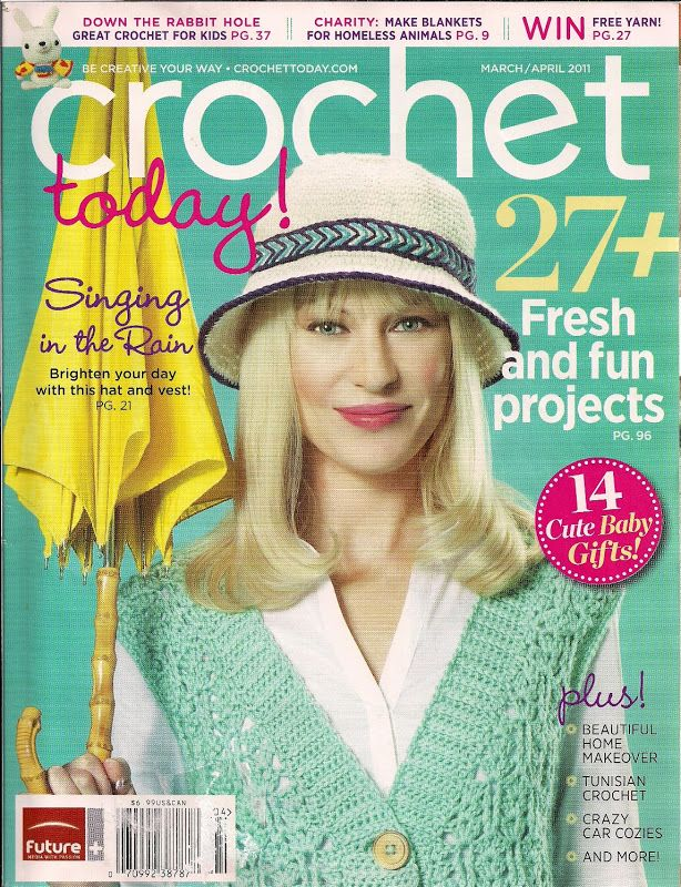 The 45 best Mags - Crochet today! images on Pinterest | Crochet ...