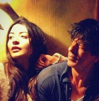 Anushka Sharma & Shahrukh Khan