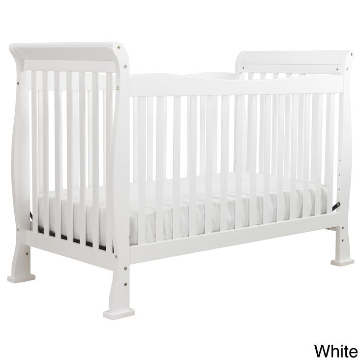 This revolutionary 4-in-1 crib will add the final touch to your little one's bedroom. The Reagan Crib is built for safety and style. Its versatile construction means it can be converted from a crib to a toddler bed, daybed, or full-sized bed.
