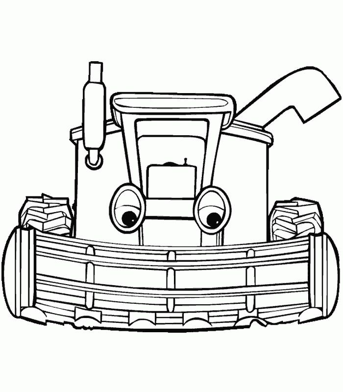 tractors coloring pages to print - photo#47