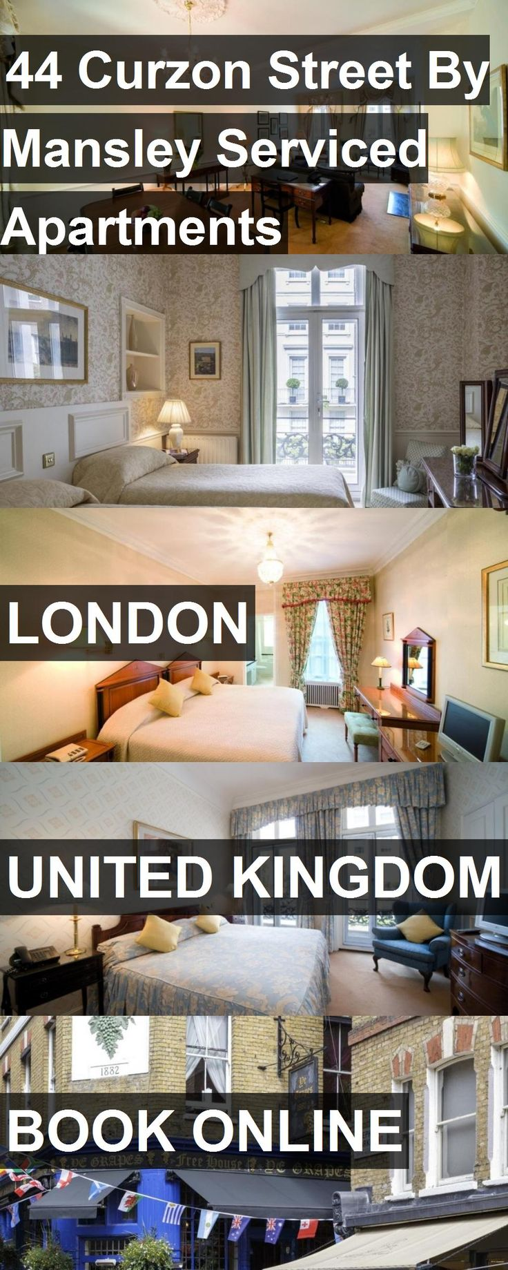 Hotel 44 Curzon Street By Mansley Serviced Apartments in London, United Kingdom. For more information, photos, reviews and best prices please follow the link. #UnitedKingdom #London #44CurzonStreetByMansleyServicedApartments #hotel #travel #vacation