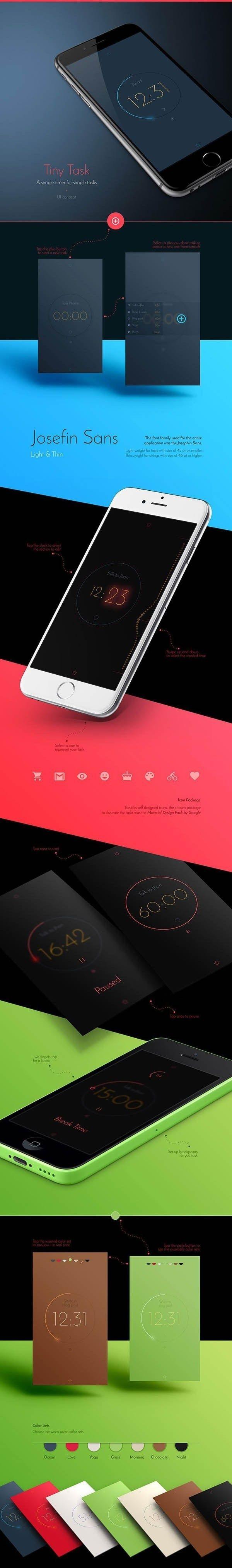 Tiny Task | App Ui Concept by Kaio Medau