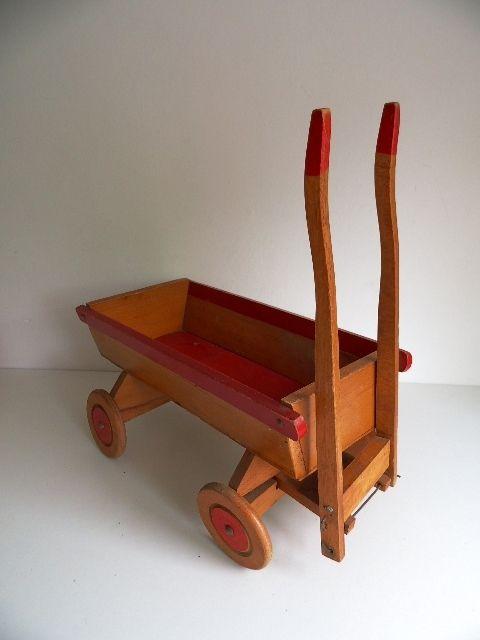 Oude speelgoed kar jaren 50/60 (Art.16-2371)