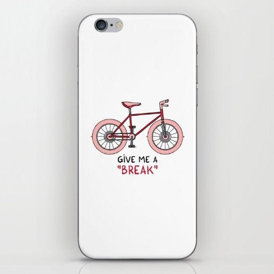 Give me a break iPhone & iPod Skin