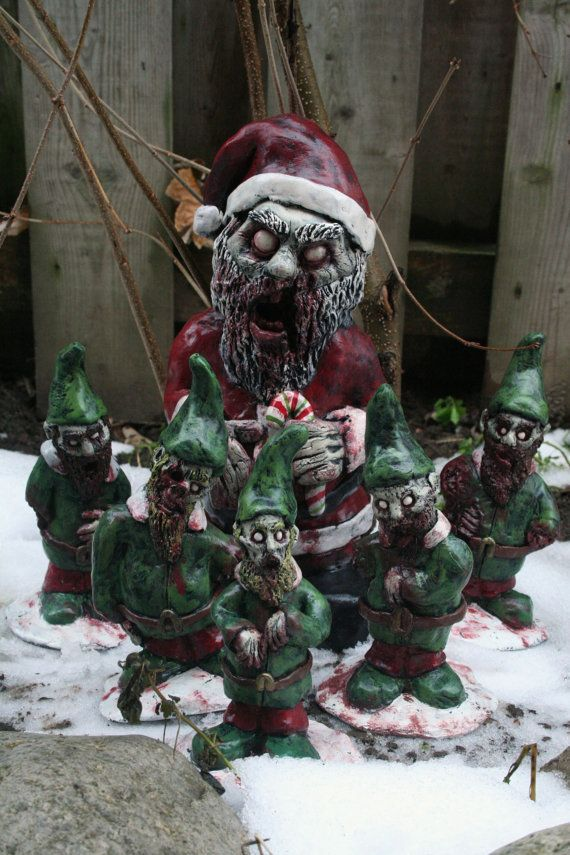Zombie Santa Corpse and The Infected Elves Zombie by RevenantFX, $160.00