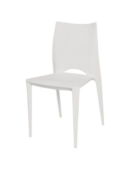 Con il suo design naturale, il colore allegro e un originale schienale, questa sedia in plastica possiede un caratteristico design moderno che la renderà la regina di casa.Può essere usata sia all'interno che fuori, in sala da pranzo o in giardino, e starà bene con ogni stile: piacerà a giovani e anziani! È molto vivace e resistente. La sua fabbricazione ne fa un ottimo investimento.Comoda, leggera, facile da muovere: una scelta che non rimpiangerai! Lasciati tentare dalla grazia dei motivi…
