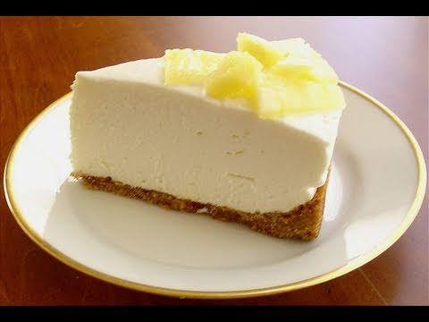Lemon Cheesecake (No Bake!) - RECIPE