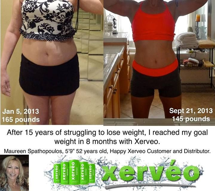 Amazing results with Xerveo at 52 years...Happy Xerveo Customer and Distributor - you can find her on facebook