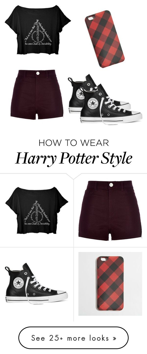 """Cute"" by pazixo on Polyvore featuring River Island, Converse and J.Crew"